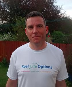 Keld fundraising for Real Life Options