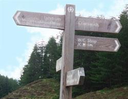 West Highland Way signboard