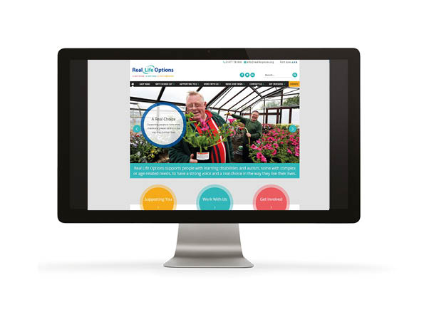 Launch of the New Real Life Options Website