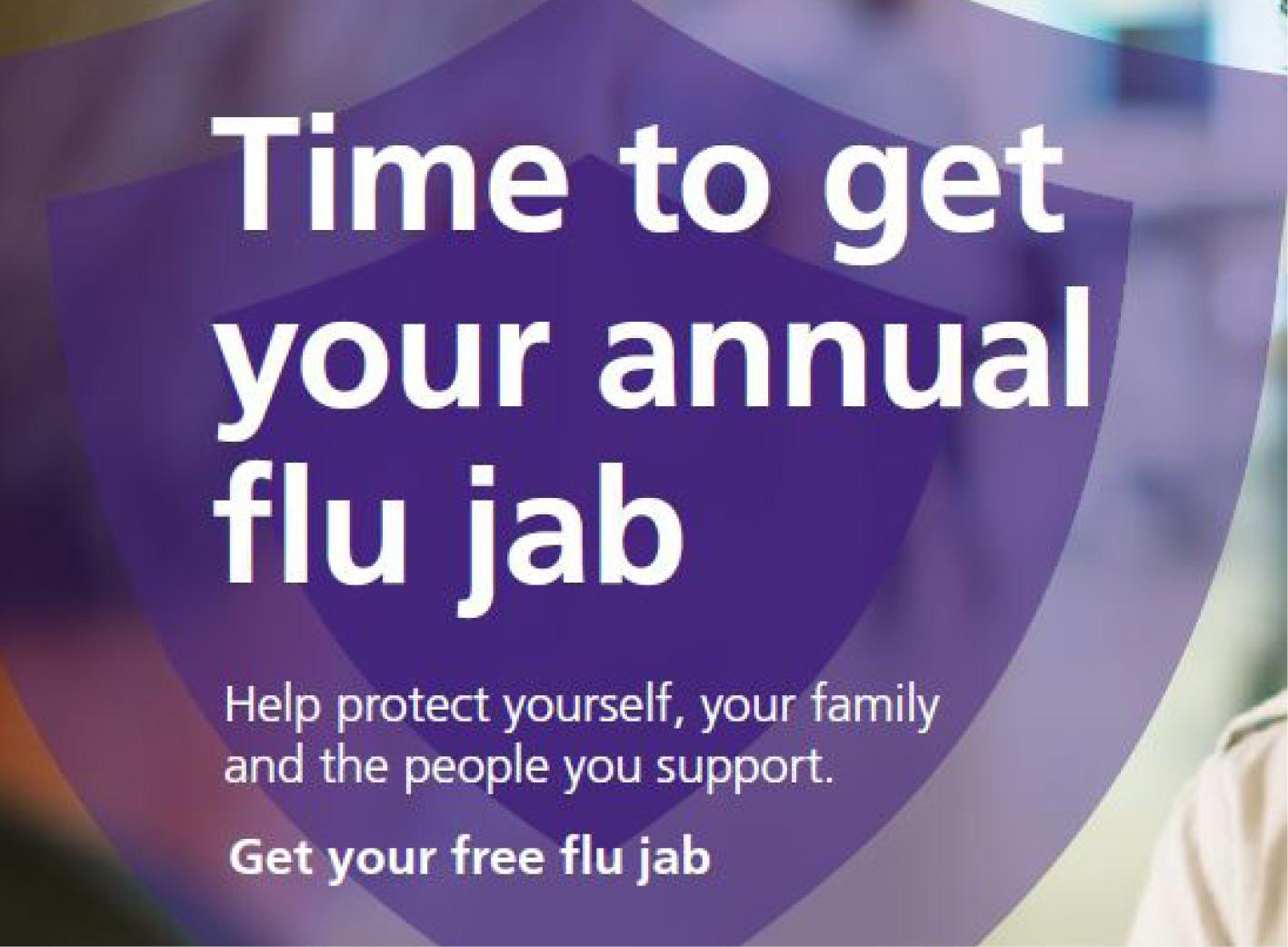 Get your FREE flu jab