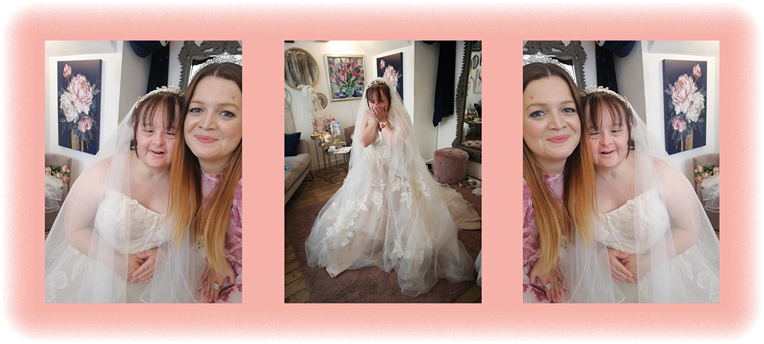 Paula's Bridal Dress Dream Comes True