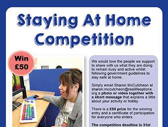 Staying at Home Competition