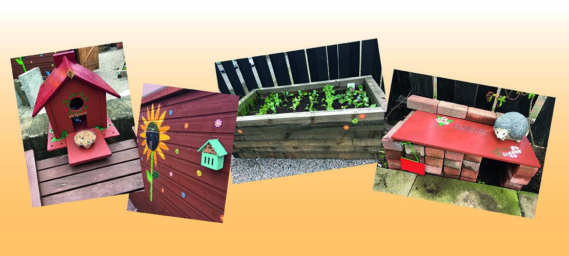 Garden Makeover A Hugh Success