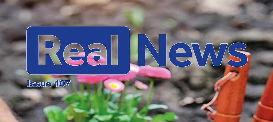 Real News Issue 107 Now Available