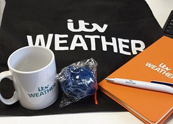 Gifts Galore from TV Weatherman