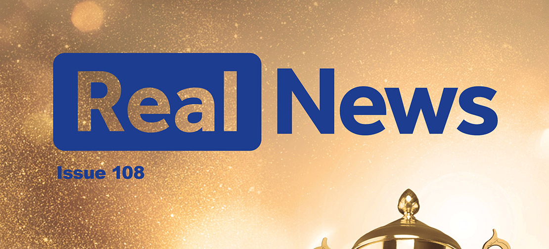 Real News Issue 108 Now Available