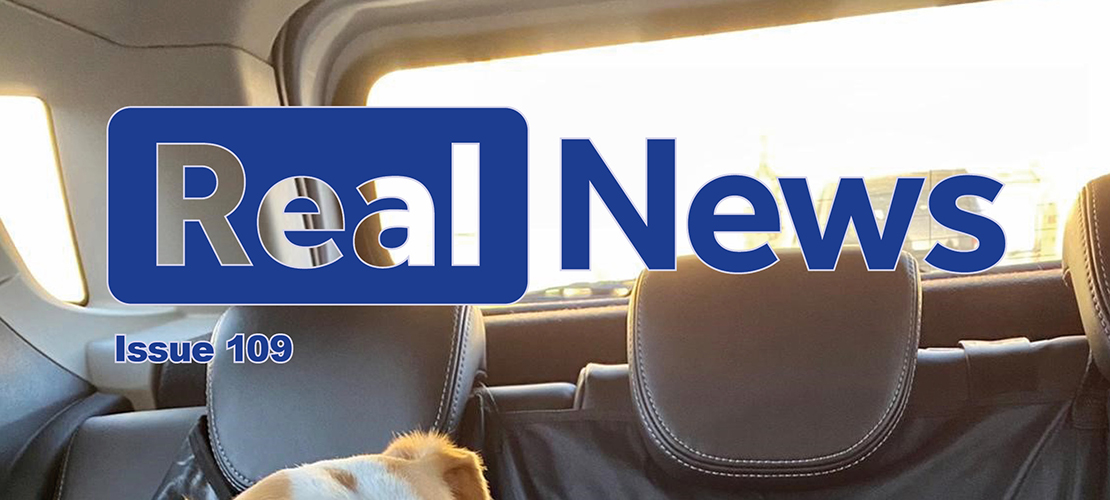 Real News Issue 109 Now Available