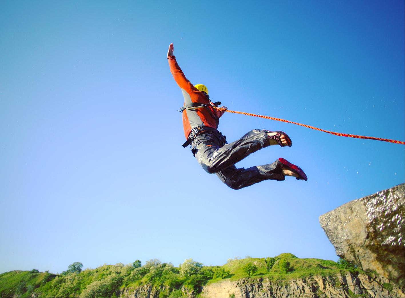 Sponsored Bungee Jump